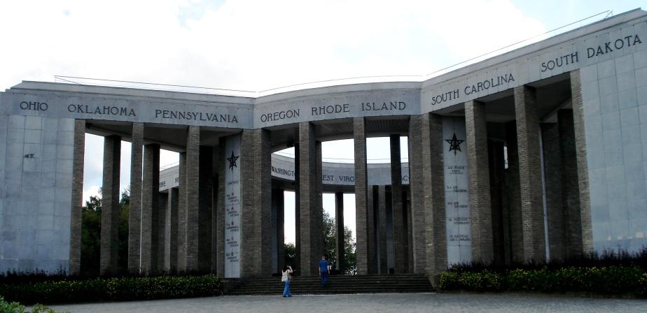 Mardasson Memorial in Bastogne, Belgium