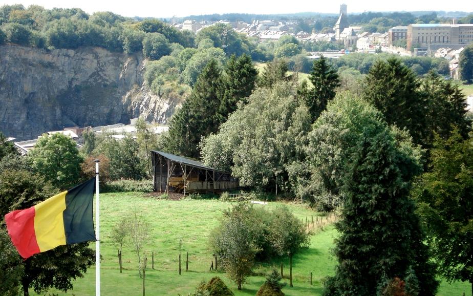 View from the Mardasson Memorial near Bastogne, Belgium