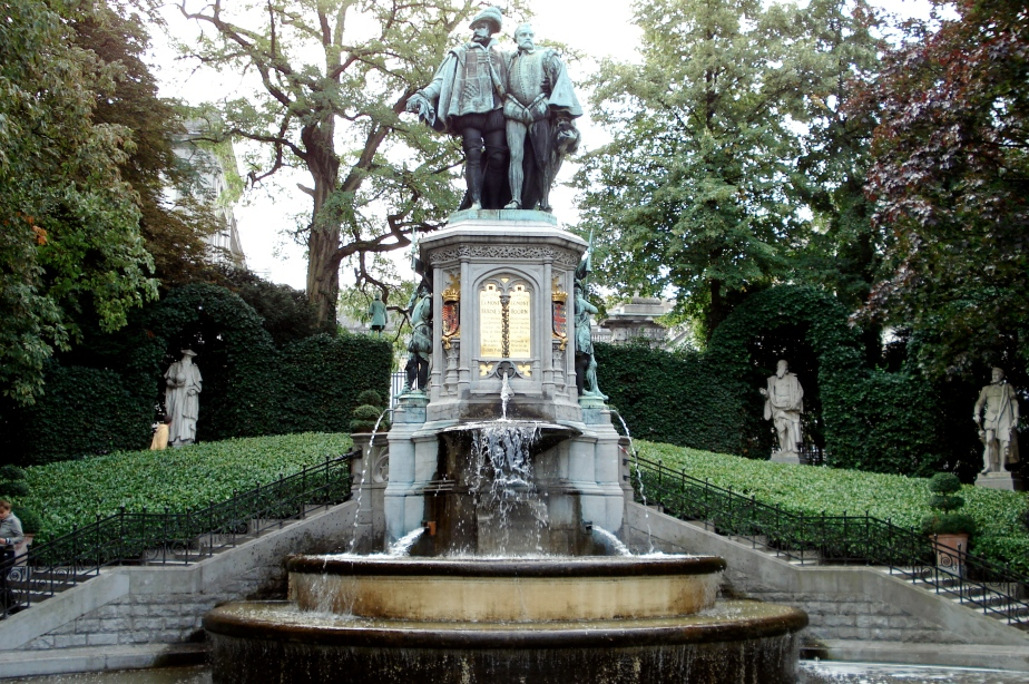 Fountain in Brussels, Belgium