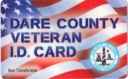 Dare County Veteran ID Card